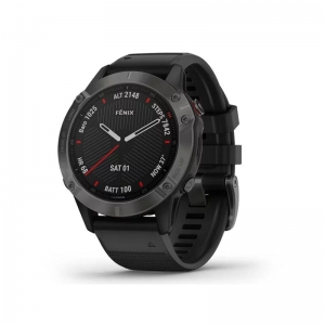 Fenix 6 Sapphire - Carbon Gray DLC with Black Band  010-02158-11